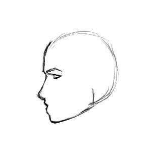 How To Draw A Face Profile